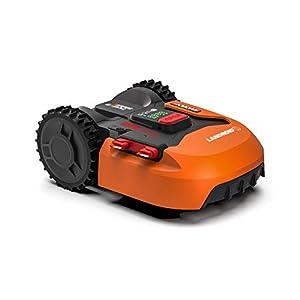 Worx Tagliaerba Robot da Giardino Landroid WR130E, Rasaerba Elettrico a Batteria 20 V, Tosaerba 3 Lame Mobili, Comando… 8 spesavip