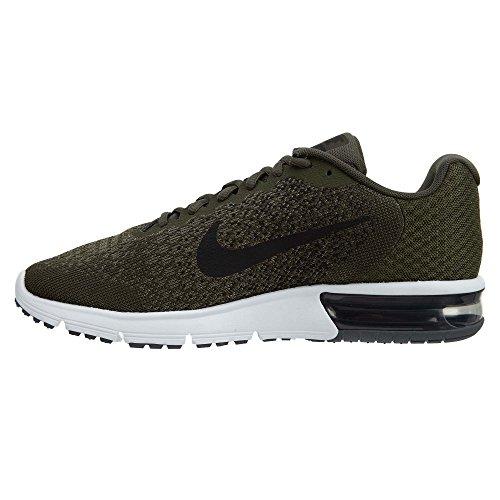 Herren Nike Air Max Sequent 2 Gymnastikschuhe Kaki (kaki / Zwart / Medium Olive / Donkergrijs)