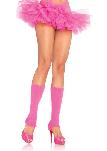 Ribbed Leg Warmers Costume Accessory