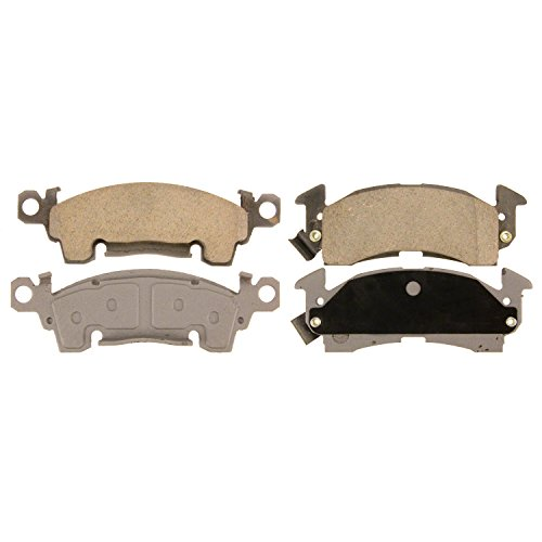 Wagner ThermoQuiet QC52 Ceramic Disc Pad Set, - Front Camaro Chevrolet Pads Brake