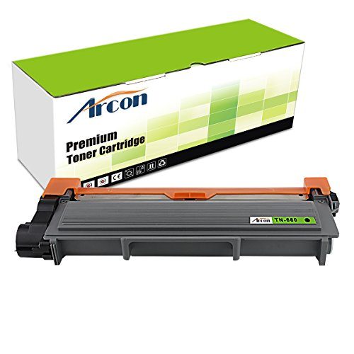 ARCON 1PK Black (2,600 Pages) Compatible Toner Cartridge Replacement For Brother TN-660 TN660 TN 660 Used For Brother HL-L2340DW HL-L2300D HL-L2360DW MFC-L2700DW MFC-L2740DW DCP-L2540DW DCP-L2520DW