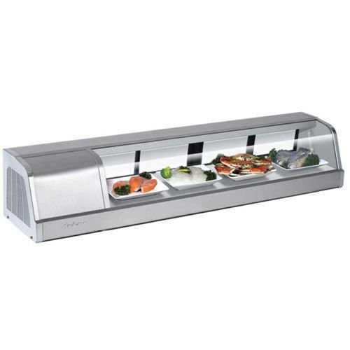 Turbo Sakura-60-L Refrigerated Sushi Display Case, Compressor on Left from Front ()