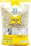 24 Mantra Organic Chick Peas / Kabuli Chana / Garbanzos - 4 lbs (USDA ORGANIC CERTIFIED)