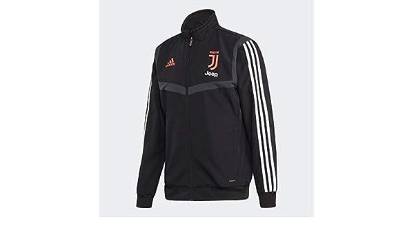2019 2020 Juventus Adidas Presentation Jacket (Black