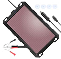 POWISER 1.8W Solar Battery Charger 12V S...