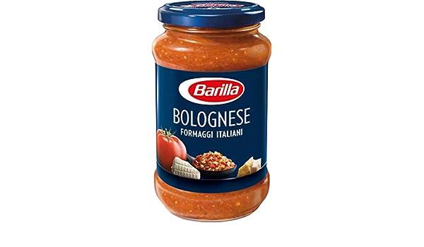 Barilla, Salsa para pasta, Boloñesa con queso 400gr: Amazon.es: Alimentación y bebidas