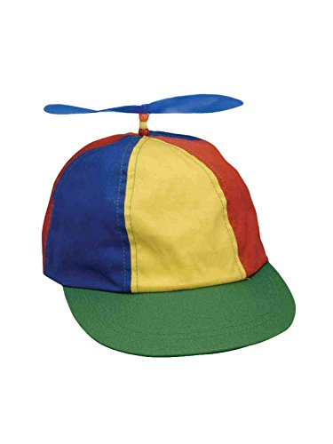 Forum Novelties Classic Propeller Hat, Multi, One Size -