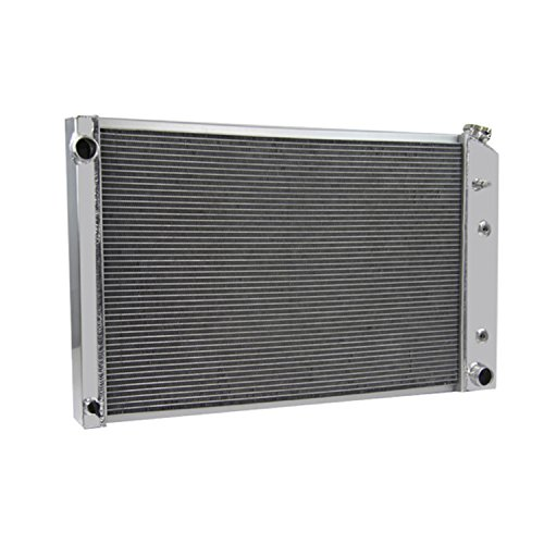 Primecooling 3 Row All Aluminum Radiator for GMC, Chevy C/K Series, Jimmy Pickup Truck V8 1973-1991 (1990 Chevrolet C2500 Radiator)