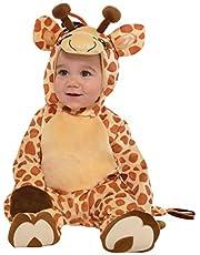 Amscan 9902078 - babykostuum junior giraf, carnaval, themafeest, Halloween