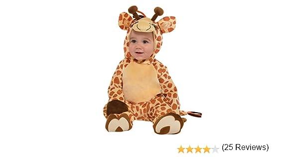amscan 9902078 Disfraz bebé Jirafa, 12 – 24 Meses: Amazon.es ...