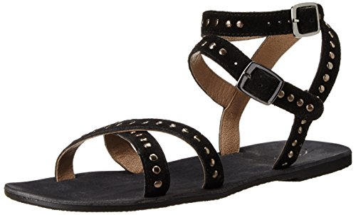 Rebels Women's Char Dress Sandal, Black, 8 M - Com India Rb