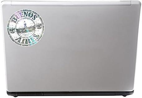 2 x 20cm/200 mm Buenos Aires Argentina Etiqueta autoadhesiva de vinilo adhesivo portátil de viaje equipaje signo coche divertido #6659