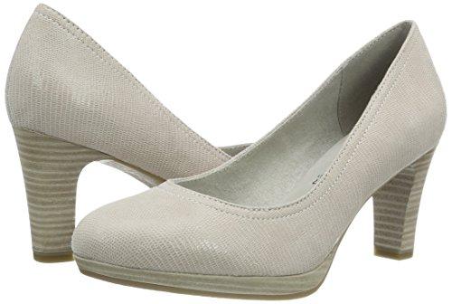 offwht Para 22410 Tamaris Struc Mujer 120 Blanco Tacón Zapatos De xfxATZ0