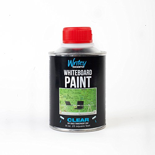 Paint Clear Uv - Writeyboard 25-Feet 1-Part Clear Dry Erase Paint (30001)