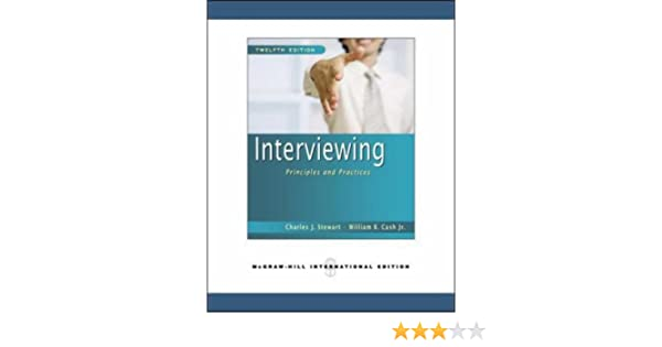 interviewing principles and practices 13th edition pdf