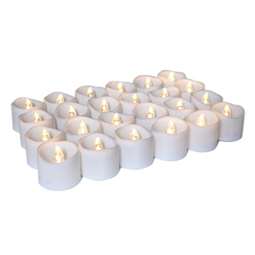 Micandle Flickering Flameless Candles Battery