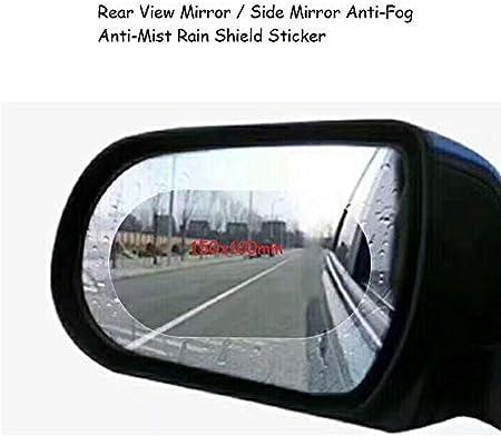 UK 2PCS Rainproof Car Rearview Mirror Anti-Fog Hydrophobic Protective Sticker/_r