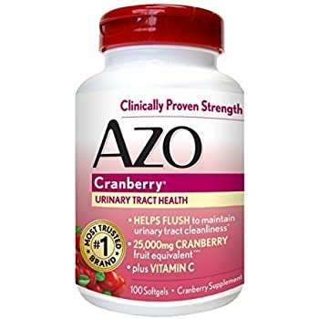 AZO Cranberry Urinary Tract Health, 25,000mg equivalent of cranberry fruit, S..