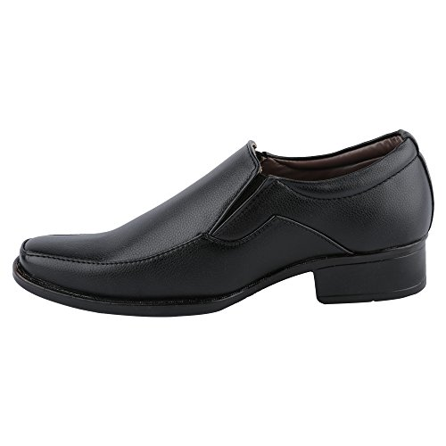 Hi-Attitude Men's Black Synthetic Formal Shoes (450080441001) – 6 UK