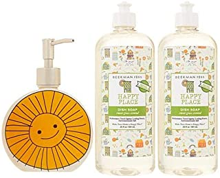 product image for Beekman 1802 Happy Place (2) 20 oz. Dish Soap with Ceramic Hand Soap Dispenser
