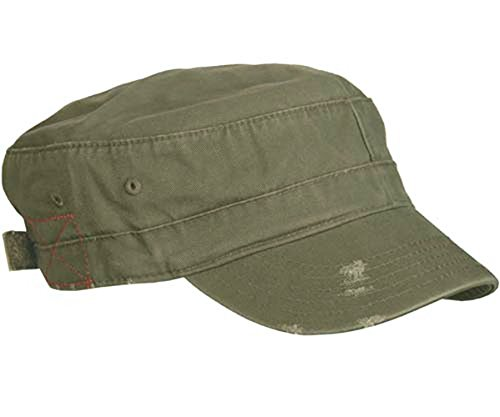 Cotton Army Cap Olive - 1