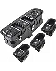 Window Lift Button Master Window Control Switch High Configuration Electric Button with Lane Assist Fit for Panamera for Cayenne for Macan (Color : Set 1)