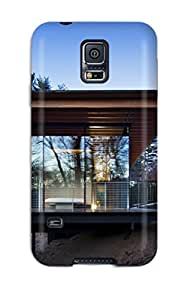 New Style Snap-on Modern Houses Case Cover Skin Compatible With Galaxy S5