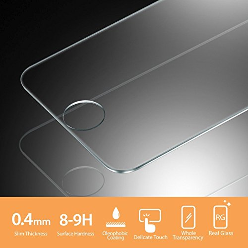Wholesale Lot of 100x Tempered Glass Film Screen Protector for iPhone 5 5c 5S by Gogad (Image #3)