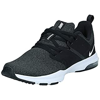 Nike Women's Air Bella Trainer Sneaker, Black/White - Anthracite, 10 Regular US
