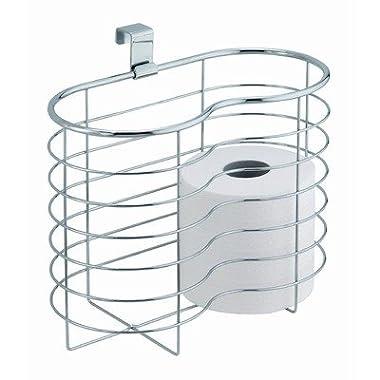 InterDesign 29240 Metalo Over Tank Basket Toilet Tissue Holder