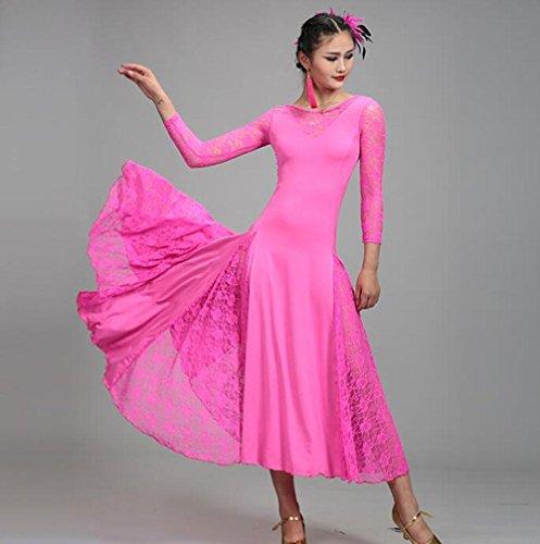KUKI Modern Dance Kleid Ballroom Tanz Walzer Praxisgruppe Large Swing Rock 6