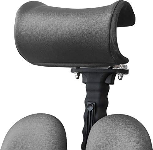 ドリームウェア ヘッドカバー ブラック 幅24×奥行21cm オフィスチェア ヘッドレスト チェアカバー DP-HR75F-SEK1