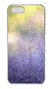 iPhone 5 5S Case Nature Purple PC Custom iPhone 5 5S Case Cover Transparent