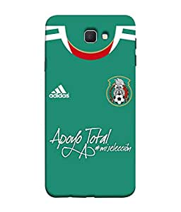 ColorKing Football Mexico 06 Green shell case cover for Samsung Galaxy J7 Prime