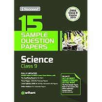 15 Sample Paper Science Class 9 CBSE