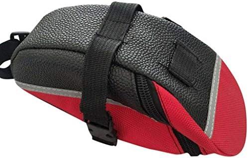 DFVVR - Bolsa Impermeable para sillín de Bicicleta, Color Rojo ...