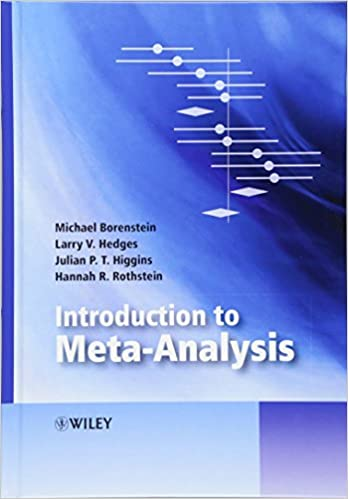 Book Introduction to Meta-Analysis (Statistics in Practice)