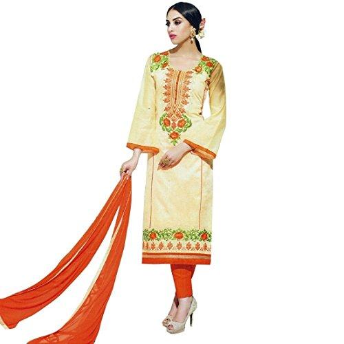 Designer Silk Embroidered Ready made Salwar Kameez Suit Indian – 0X, Yellow