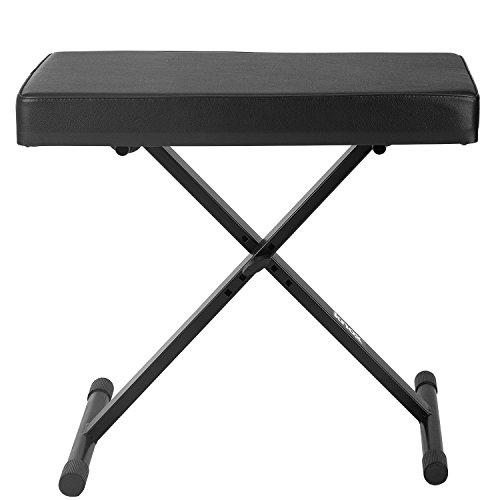 Yamaha p115 88 weighted key digital piano bundle with knox for Yamaha p115 stand