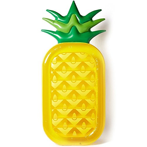 Mai Poetry Giant Inflatable Pineapple Pool Float Pool Raft Water Toy for Kids and Adults