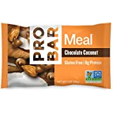 PROBAR - Meal Bar, Chocolate Coconut, 3 Oz, 12 Count - Plant-Based Whole Food Ingredients