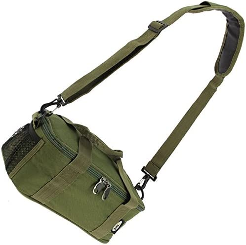 NGT CAMO Insulated Fishing Camping Brew Tea Kit Cutlery Bag Stove Cooking