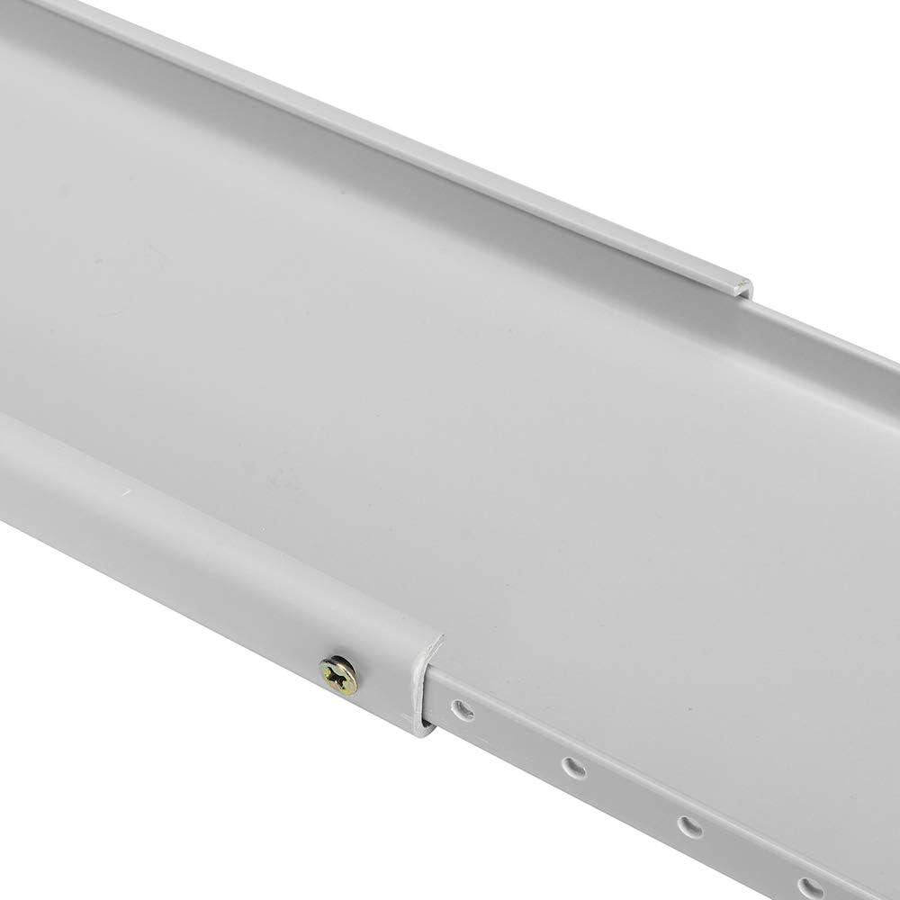 2pcs plaque de kit de glissi/ère de fen/être pour la plaque d/étanch/éit/é de fen/être r/églable pour climatiseur portatif