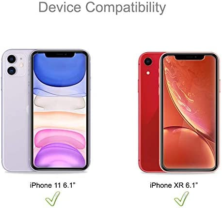 (2 Pack) Supershieldz for iPhone 11 and iPhone XR (6.1 inch) Tempered Glass Screen Protector with (Easy Installation Tray) Anti Scratch, Bubble Free