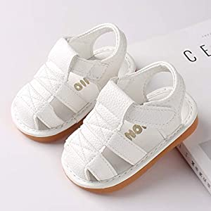 3-18Months, 2019 Hot Cow Muscle Sole Material Summer Baby Cartoon Soft Bottom Non-Slip Sandals Toddler Shoes