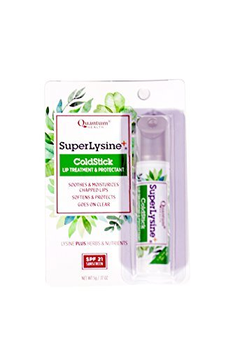 (Super Lysine Plus+ ColdStick, SPF 21, Regular 0.17 oz (Pack of 2))