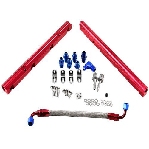 Speedmaster PCE137.1001 Chevy LS1 LS6 Billet Aluminum Fuel Injector Rail Kit