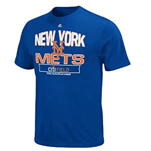 MLB New York Mets Youth Authentic Experience T-Shirt, Royal, X-Large