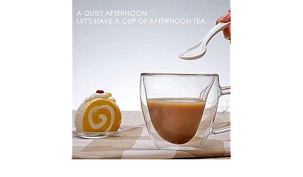 DYTJ-Mugs Amor Corazón Oso Copa Leche Vaso Doble Taza De Café Con Aislamiento Presente Tazas Regalo De Niña Señora Tazas De Café, 8.3X7.8X4Cm, Estados Unidos: Amazon.es: Hogar