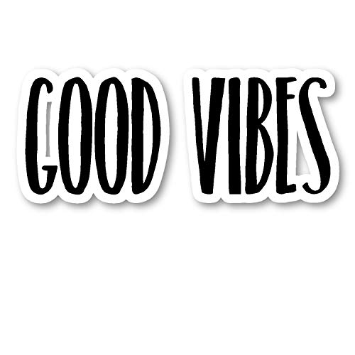 Good Vibes Sticker Inspirational Quotes Motivation Stickers - Laptop Stickers - 2.5